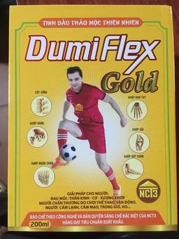 Tinh dầu thảo mộc Dumin FLex Gold