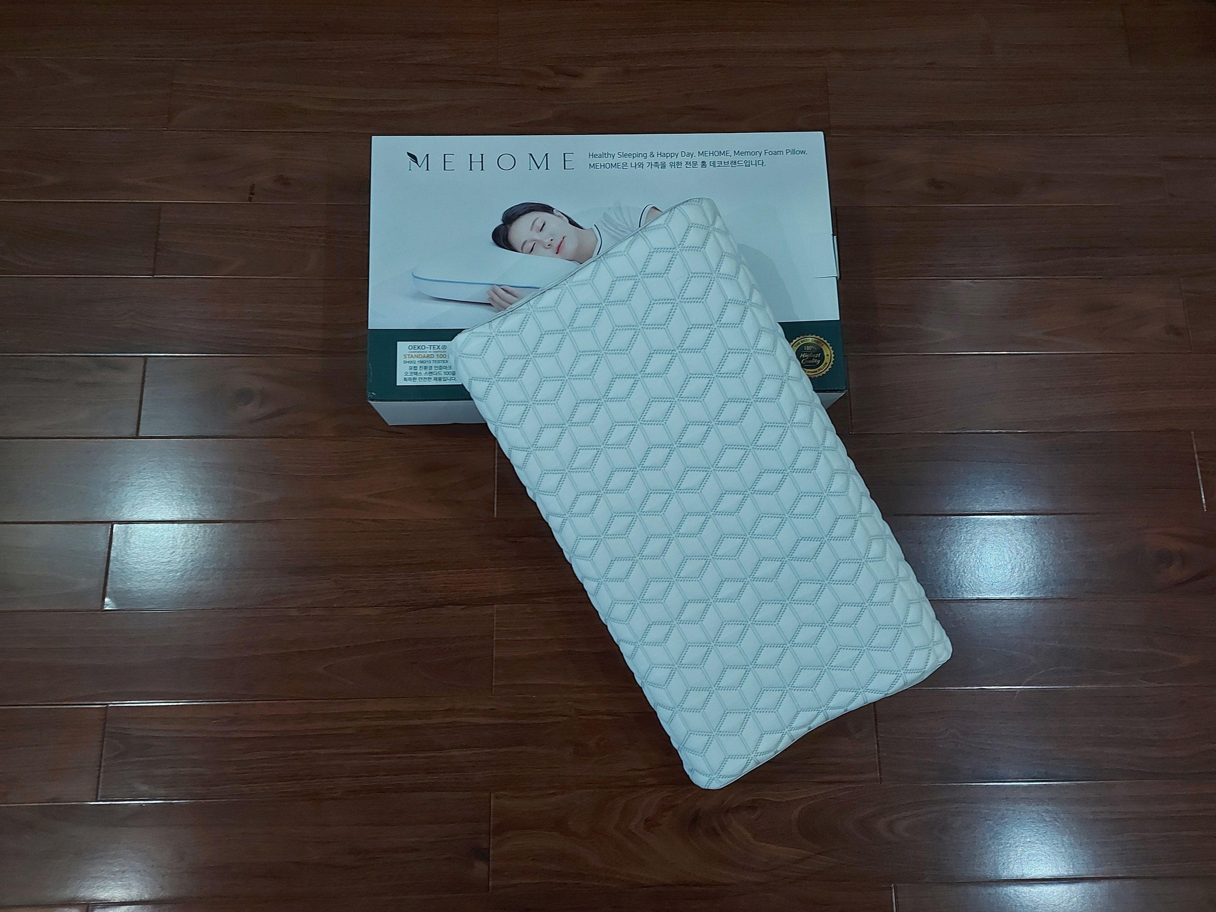Gối lượn sóng làm mát vỏ lạnh Mehome Hàn Quốc chính hãng