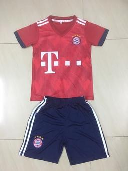 Bộ thể thao bé trai CLB Bayern đỏ