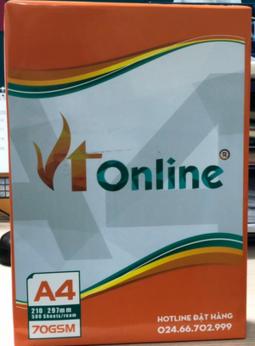 Giấy A4 ĐL70/95 - VTOnline
