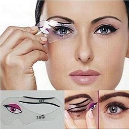 Khuôn Kẻ Mí Eyeliner Và Tô Bầu Mắt