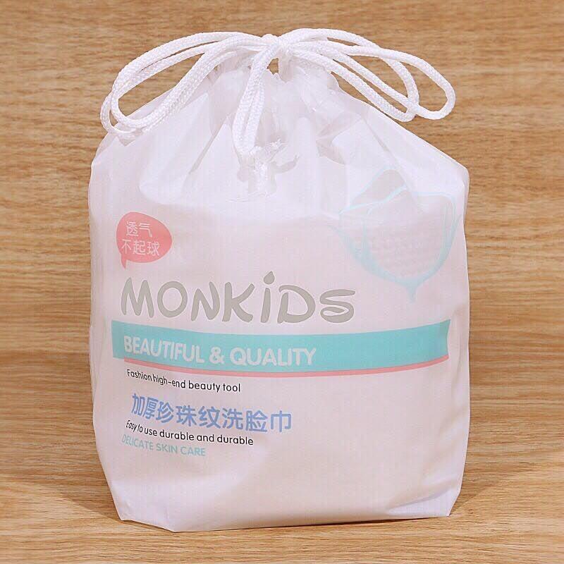 Giấy rửa mặt đa năng MONKIDS-GIẤY CUỘN LAU MẶT DÙNG TRONG SPA THẨM MỸ VIỆN