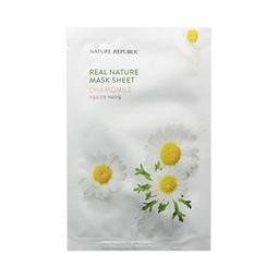 Mặt Nạ Giấy Dưỡng Da Tự Nhiên Chiết Xuất Hoa Cúc Nature Republic Real Nature Chamomile Mask Sheet (23ml)