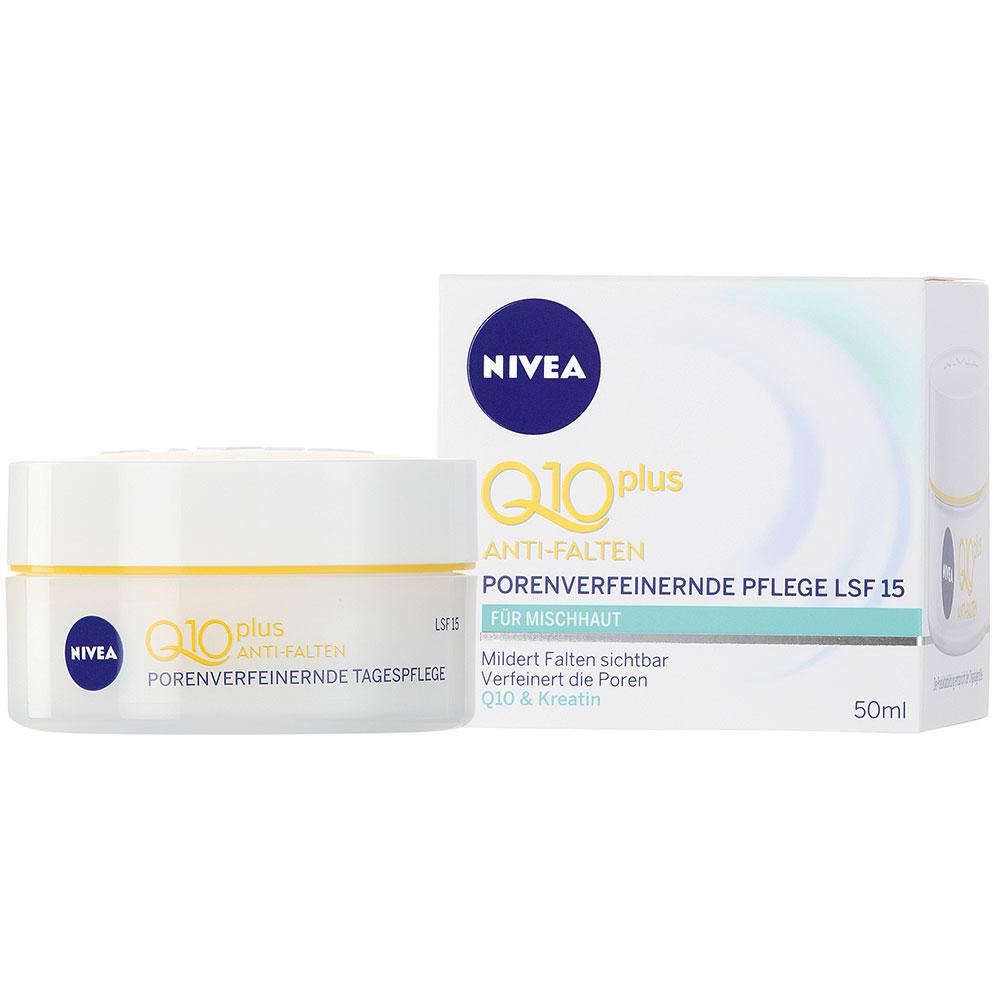 Kem dưỡng da Nivea Q10 Plus Anti Falten Tagespflege SPF 15 chống lão hóa ban ngày, 50ml