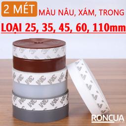 Ron Dán Chân Cửa  Dài 2m Ngăn Bụi, Muỗi, Gián Rộng 60mm