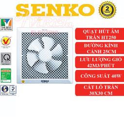 Quạt hút thông gió âm trần Senko H250