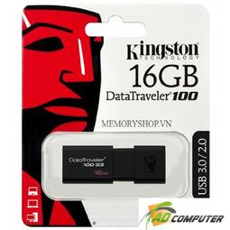 USB KINGSTON 16G 3.0 DT100G3