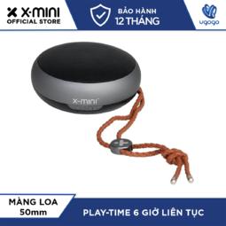 Loa Bluetooth X-mini KAI X1 XAM31-MG Công Suất 3W Siêu Nhỏ Gọn Kèm Dây Đeo Thời Trang - Hàng chính hãng