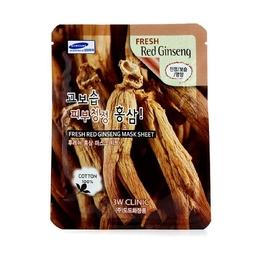 Mặt nạ dưỡng da chống lão hóa chiết xuất nhân sâm đỏ 3W Clinic Fresh Ginseng Mask Sheet