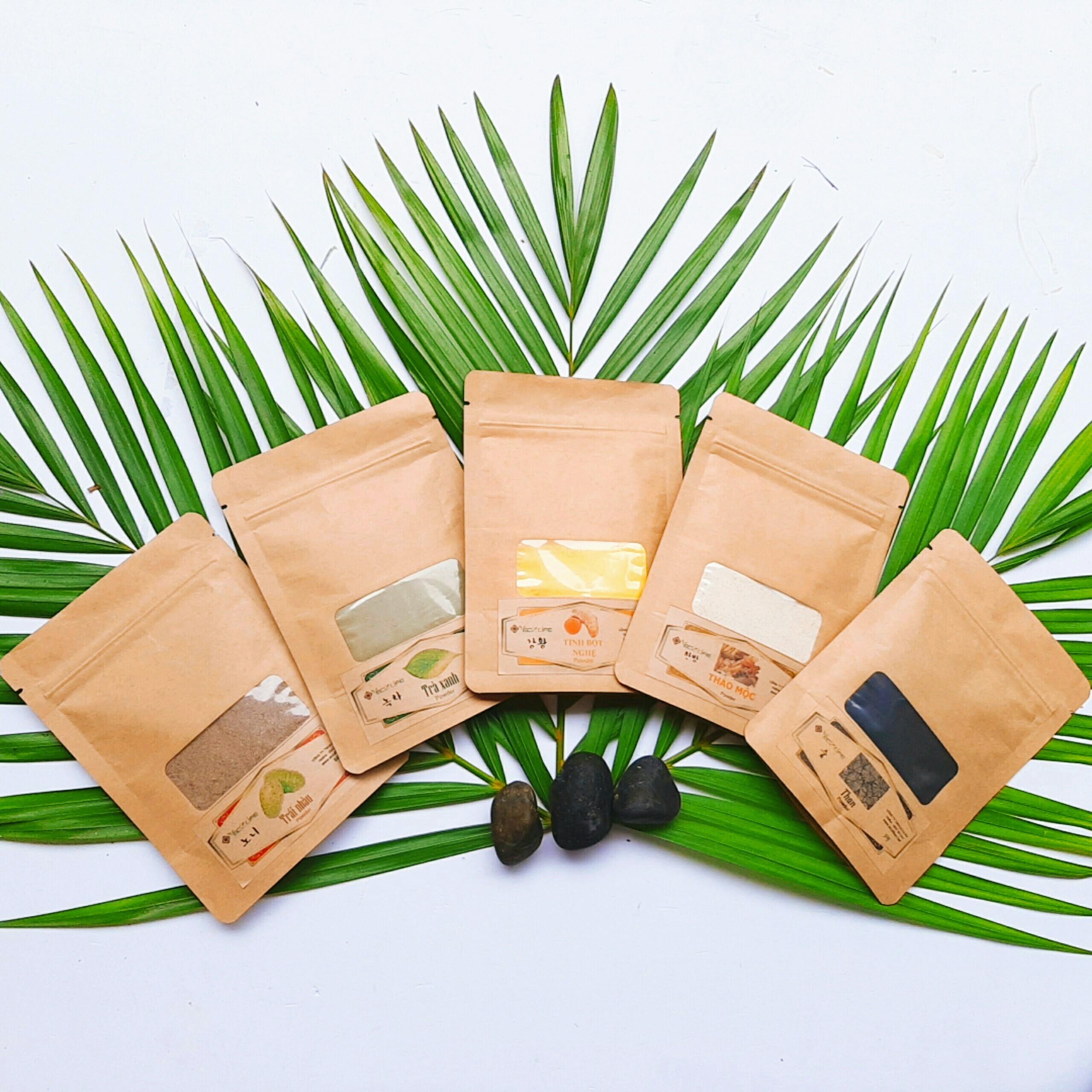 Bột trà xanh đắp mặt - Green Tea Powder