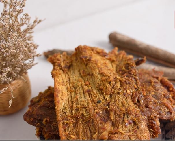 Thịt Bò Khô Miếng Thu Ba