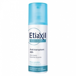Xịt Khử Mùi Etiaxil Déodorant Anti-Transpirant 48h Anti-Traces Blanches & Jaunes 100ml
