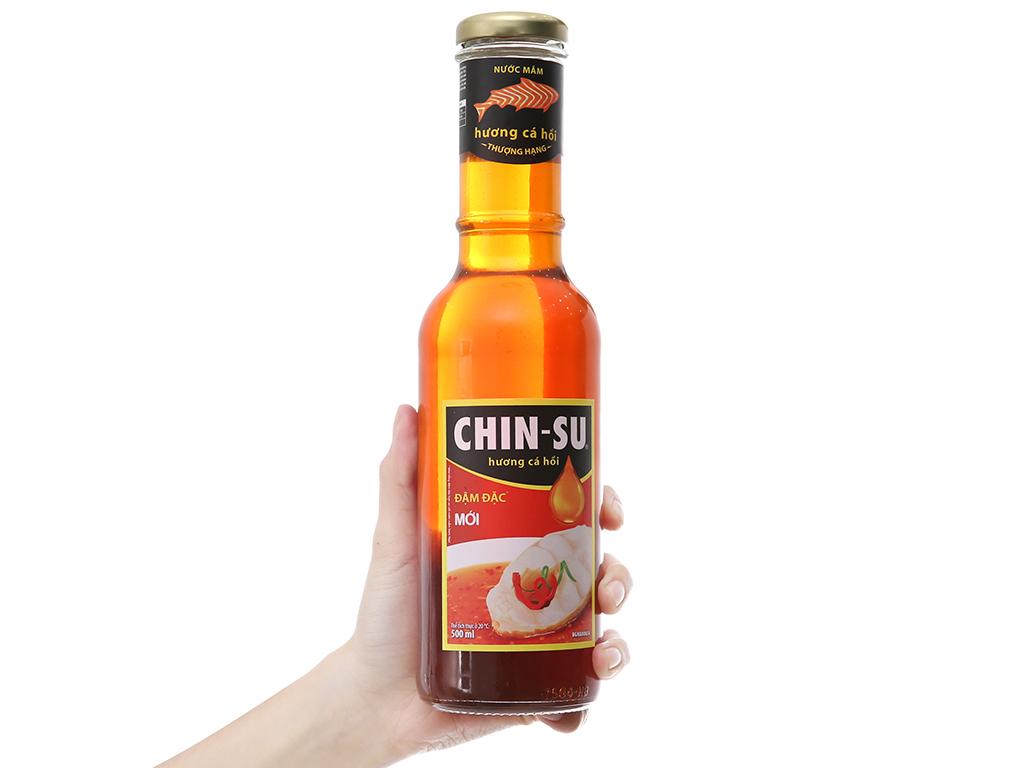 02 chai - Nước mắm Chinsu hương cá hồi chai 500ml