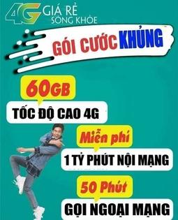 Sim 4G Viettel V90 Siêu rẻ