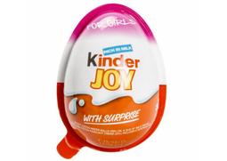 Trứng Kinder Joy Ấn Độ - Màu hồng dành riêng cho bé gái