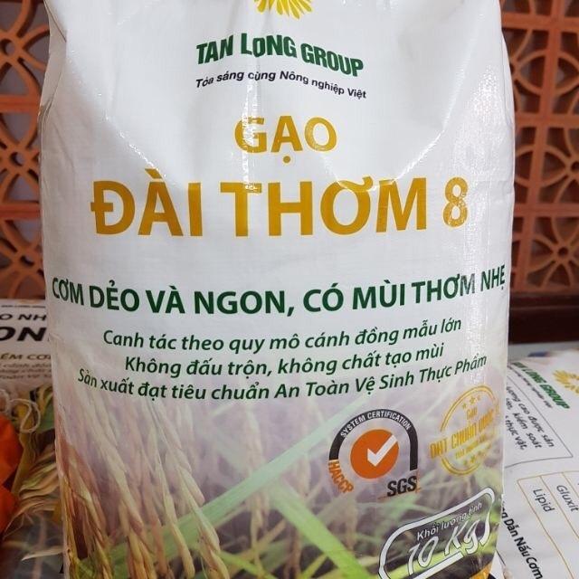 [GIÁ SỐC] Combo 10kg Gạo Đài Thơm Tám và 5 chai Dầu ăn Dykanka dung tích 1000ml
