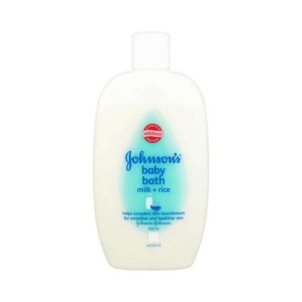 Sữa Tắm Dưỡng Ẩm Chứa Sữa Và Tinh Chất Gạo Cho Trẻ Em Johnson'S Baby Milk 550ml (Malaysia)