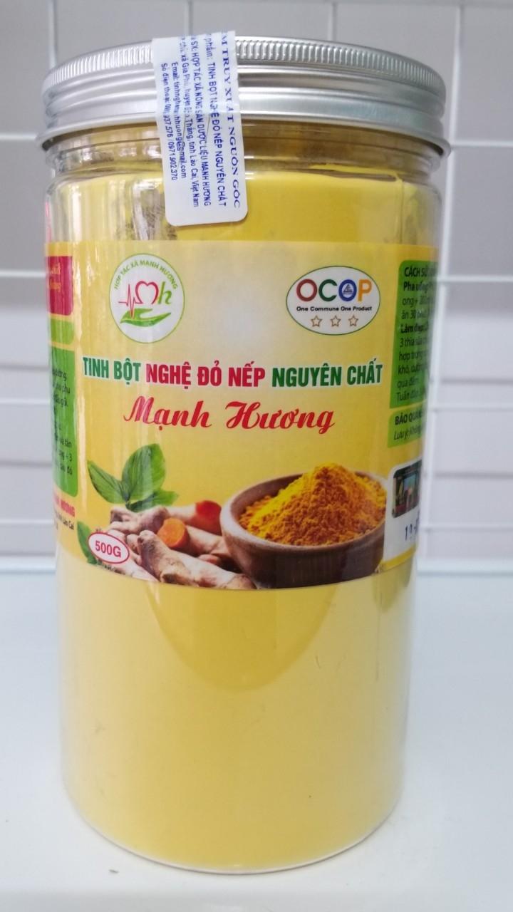 OCOP3.LCI Tinh Bột Nghệ Đỏ - Tốt Thật Cho Sức Khỏe và Sắc Đẹp