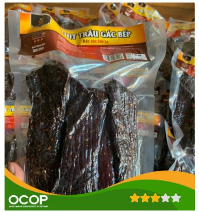 Thịt Trâu hun khói (gác bếp) Hoa Xuân - 1 kg