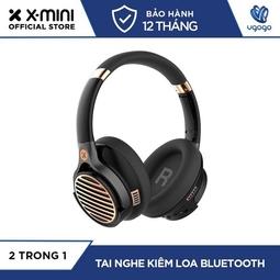 Tai Nghe Bluetooth Chụp Tai X-mini EVOLVE 2 XAM26-RG Tích Hợp Loa Bluetooth Thời Gian Nghe Nhạc 30 Tiếng Loa 5 Tiếng