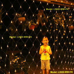 Đèn Nháy Lưới ngang 3 m – cao 2m - chớp nháy 8 chế độ - Thế Giới Đèn Nháy