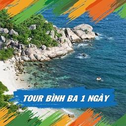 Tour đảo Bình Ba 1 ngày - Đón khách tại Nha Trang