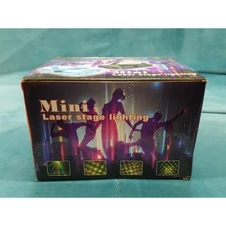 Đèn Laser Mini Sân Khấu Cảm Biến Theo Nhạc