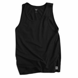 Áo Ba Lỗ Cotton Nam T-Simple (Đen)