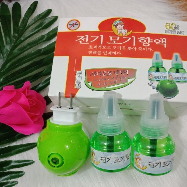 Đèn xông tinh dầu đuổi muỗi Hàn Quốc
