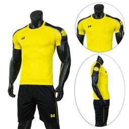 Bộ quần áo thể thao nam cao cấp - Quần áo đá bóng nam Everest Wx-Vàng