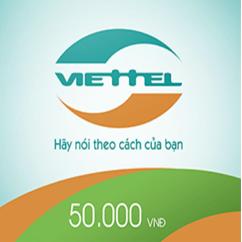 THẺ CÀO VIETTEL MỆNH GIÁ 50.000