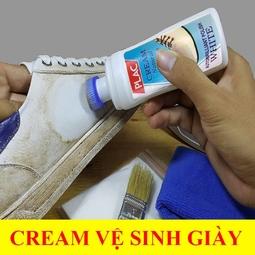 Chai xịt tẩy trắng giày dép túi xách Plac loại có đầu Chà 100ml - HANY SHOP