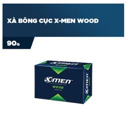 Xà bông cục X-men Wood 90g - Date mới nhất