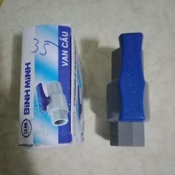 Van cầu 21 Nhựa Bình Minh + Tuýp keo Bình Minh 25g - Huy Tưởng