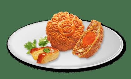 Bánh trung thu Kinh đô Gà quay Jambon 1 trứng - 100k/cái