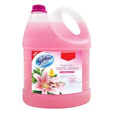 Nước Lau Sàn Sunlight hương lily Can 3,8kg