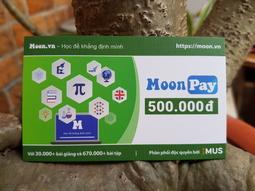 Thẻ MoonPay mệnh giá 500.000đ