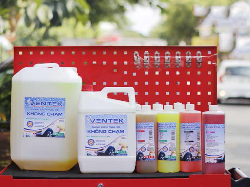 Dung dịch rửa xe không chạm Ventek VET65 5 lít