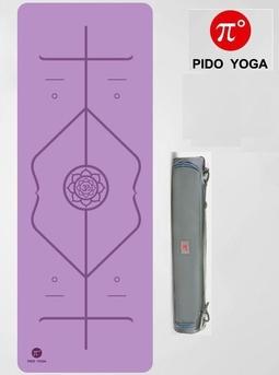 Thảm Pido Định tuyến  dầy 5mm(Kèm túi +Dây buộc)- Màu tím