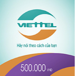 THẺ CÀO VIETTEL MỆNH GIÁ 500.000