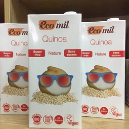 Sữa Diêm mạch - Quinoa hữu cơ không đường 1L