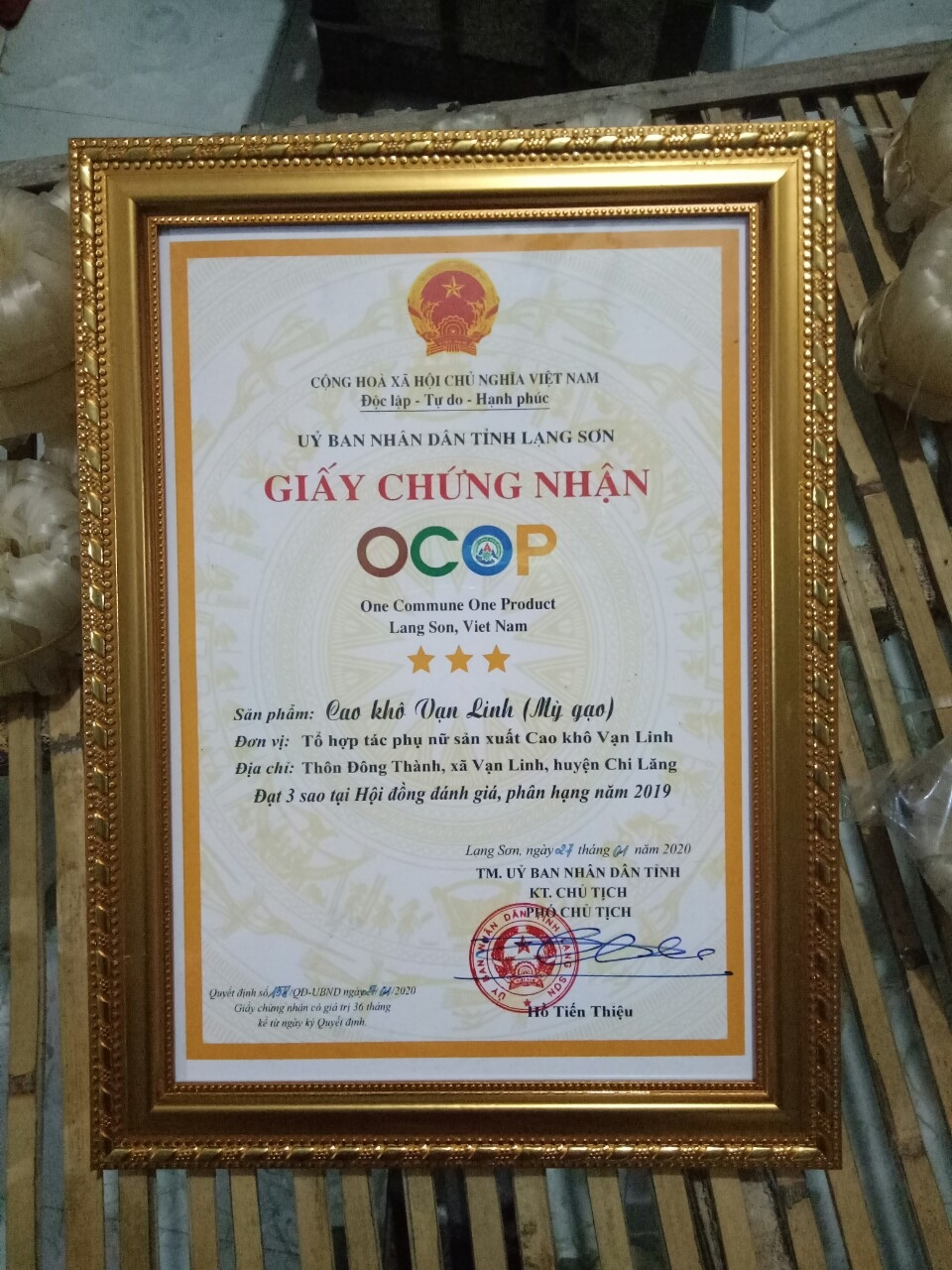 Cao Khô Van Linh 40k/1 túi
