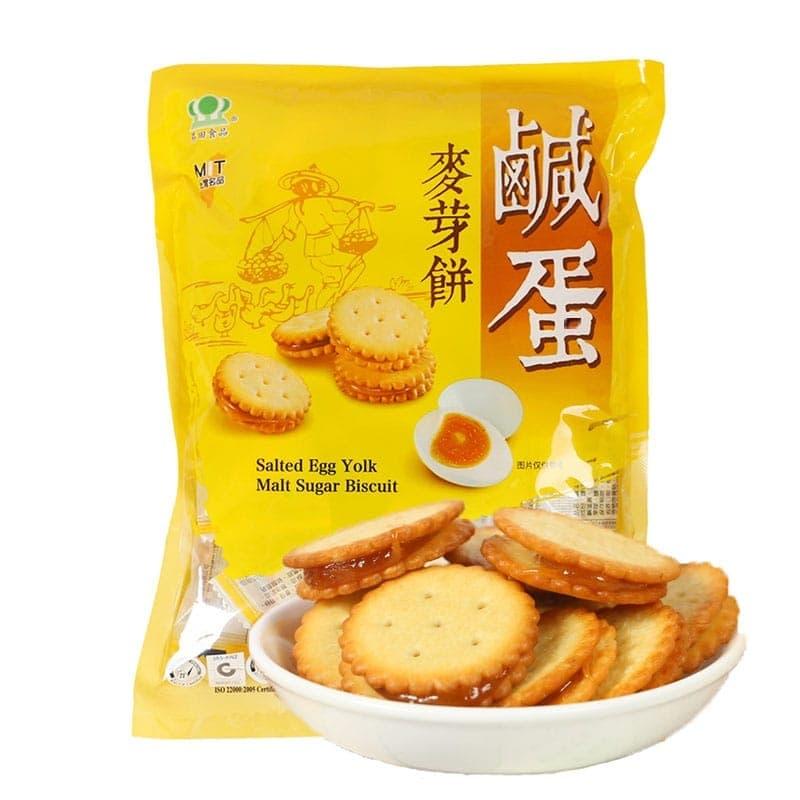 Bánh quy trứng muối Shengtian 500g của Đài Loan - GVPTP