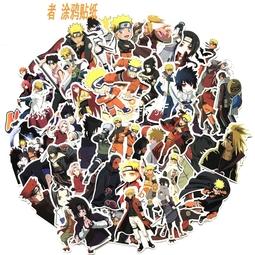 Bộ 60 miếng Sticker hình dán Naruto