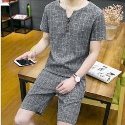 quần áo bộ caro nam Mã: NA0011