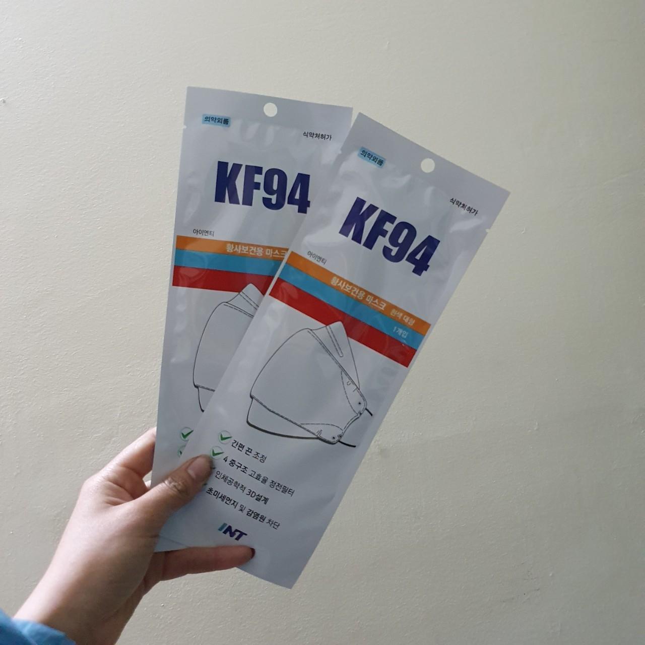 Khẩu trang kháng khuẩn Hàn Quốc KF94