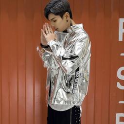 áo khoác da bóng túi hộp Mã: NK1415 - BẠC