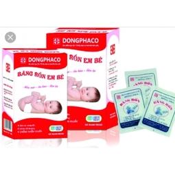 combo 3 hộp Băng rốn Đông Pha cho trẻ sơ sinh hộp 3 chiếc