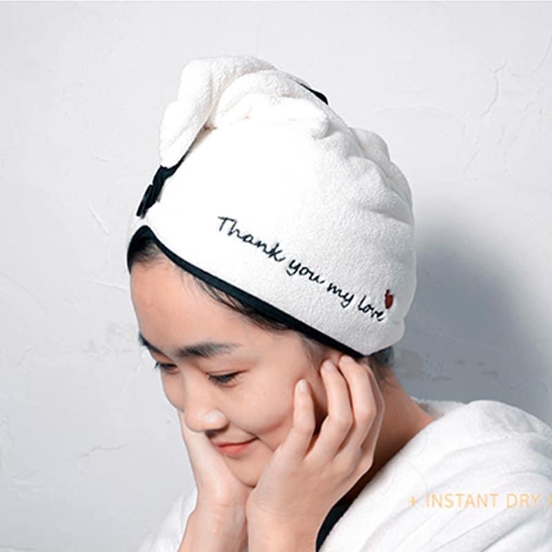 Khăn ủ tóc siêu khô