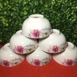 Set 10 chén sứ hoa đào hàng nhập khẩu